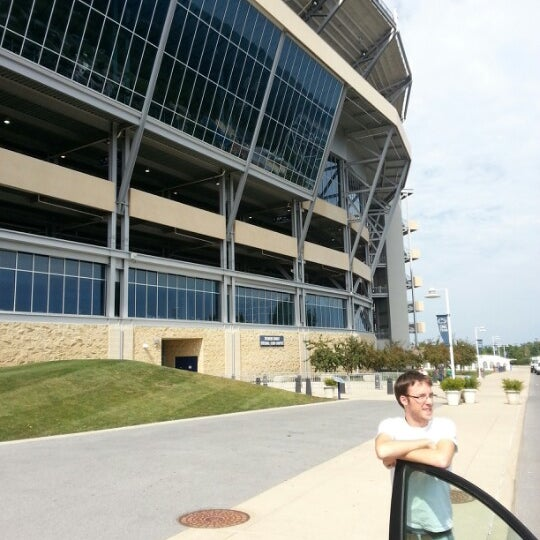 Photo taken at Beaver Stadium by Jake S. on 9/14/2012
