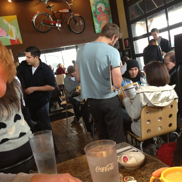 Photo taken at Eggs In the City by Megan H. on 2/10/2013