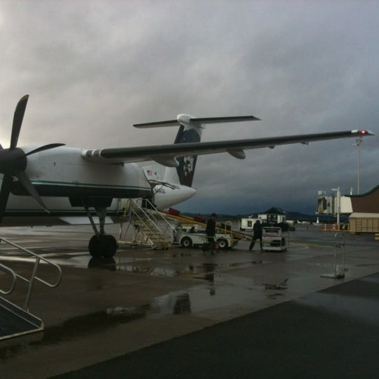 Photo taken at Eugene Airport (EUG) by Edward M. O. on 12/16/2012