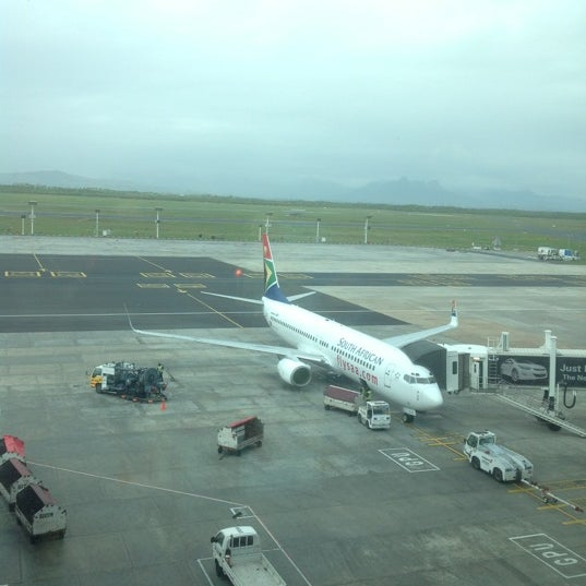 Photo taken at SAA Business Lounge Cape Town by Winston S. on 10/4/2012