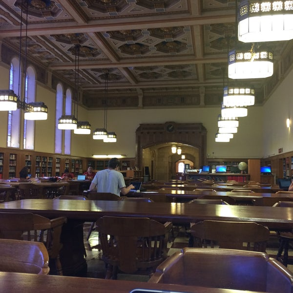 Photo taken at Doheny Memorial Library (DML) by Adil Cem A. on 8/14/2015