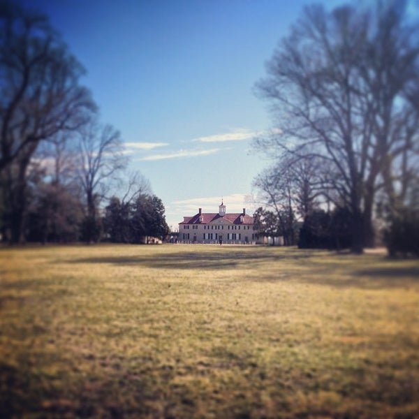 Photo taken at George Washington's Mount Vernon Estate, Museum & Gardens by Jeffrey H. on 2/24/2014