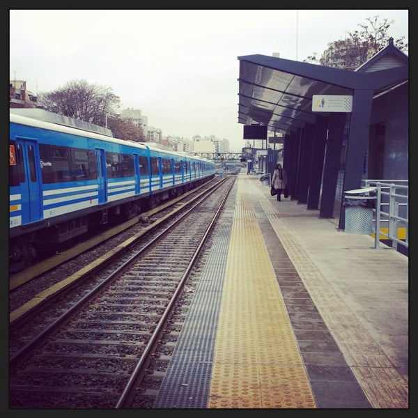 Photo taken at Estación Caballito [Línea Sarmiento] by Fer C. on 7/12/2015