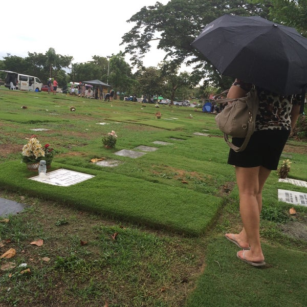 Photo taken at Manila Memorial Park by Popi G. on 6/21/2015