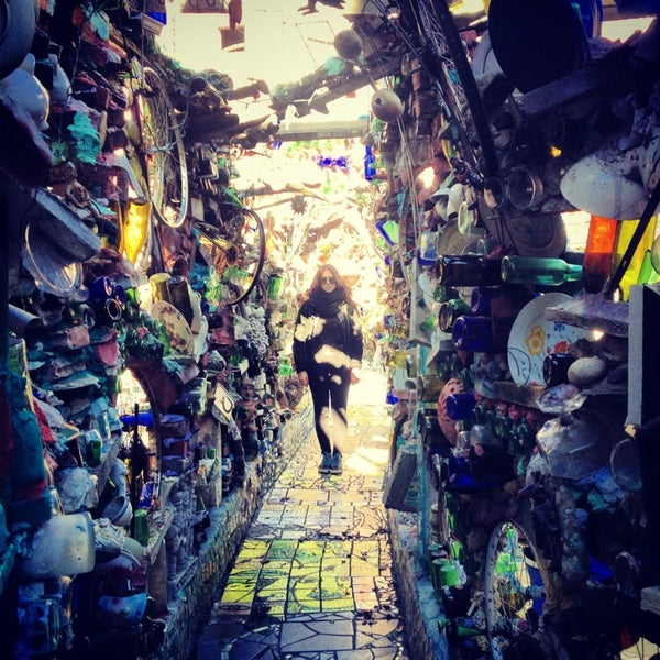 Photo taken at Philadelphia's Magic Gardens by Claudia F. on 1/19/2013