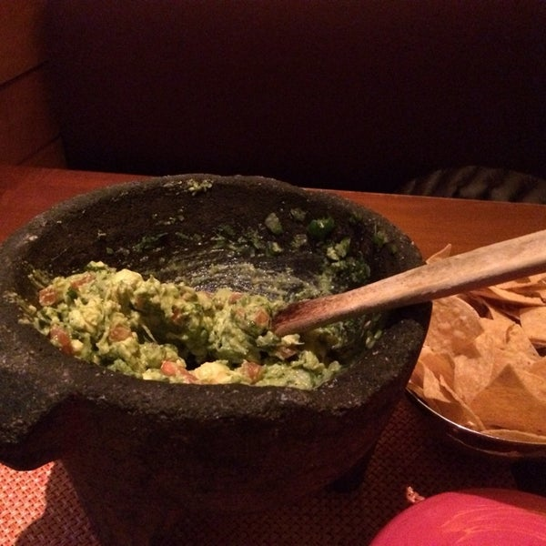 Photo taken at Rosa Mexicano by Manny on 2/19/2014