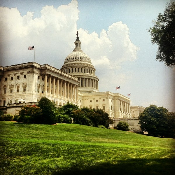 Photo taken at United States Capitol Building by Kate K. on 7/19/2013