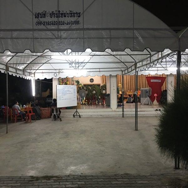 Photo taken at วัดดอนตูม บ้านโป่ง by Aekzz P. on 5/1/2016