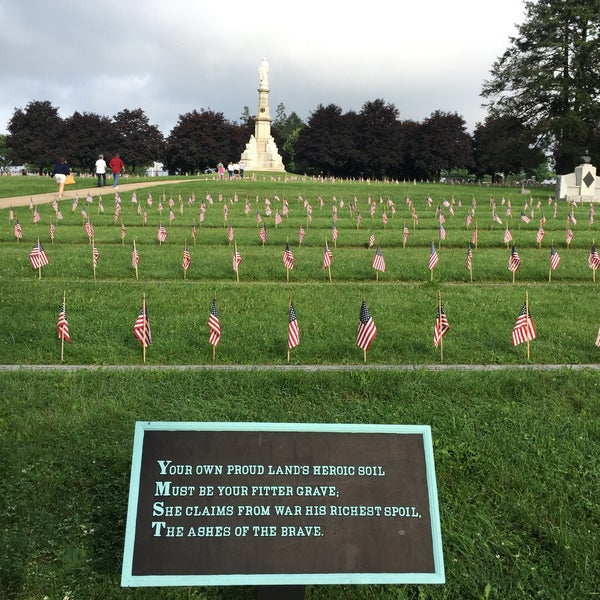 Photo taken at Soldiers' National Cemetery by Eric 📱 M. on 7/4/2015