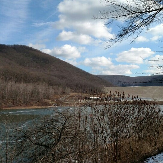 Photo taken at Kinzua Dam by Michael G. on 2/6/2016