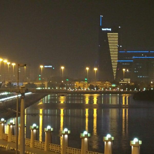 Photo taken at Corniche Al Gorm by Emirates S. on 7/8/2013