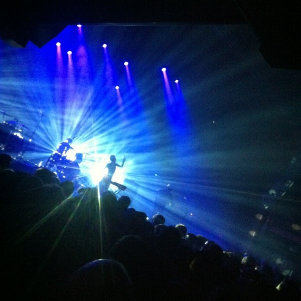 Photo taken at AB Ancienne Belgique by nadiem s. on 3/19/2013