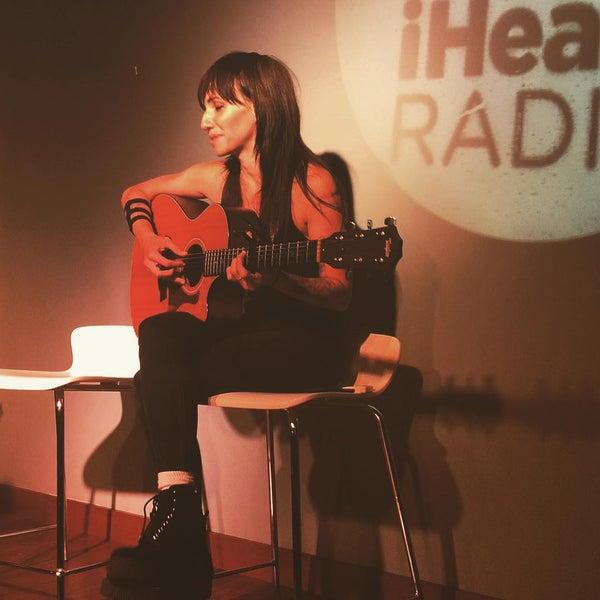 Photo taken at iHeartRadio Theater by Glenda B. on 7/21/2015