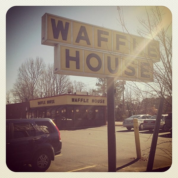 Photo taken at Waffle House by Timothy S. on 1/18/2014