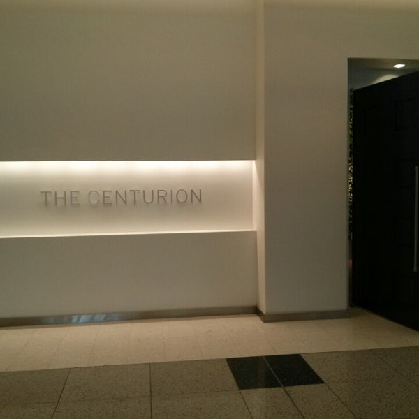 Photo taken at The Centurion Lounge by American Express by Noah T. on 4/5/2013