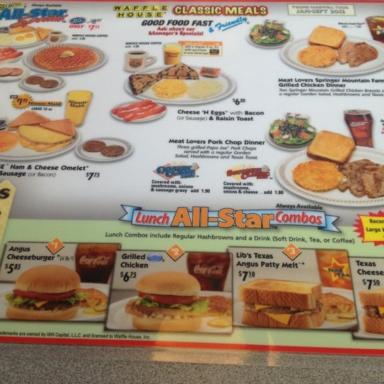 Photo taken at Waffle House by Jay W. on 10/5/2012