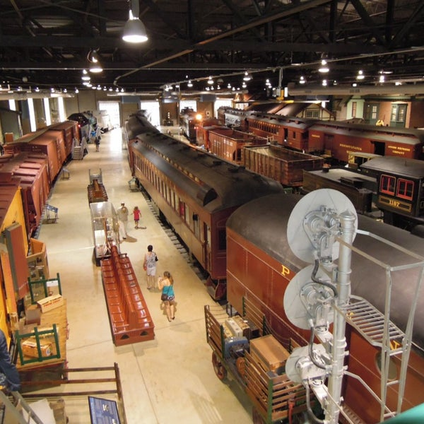 Photo taken at Railroad Museum of Pennsylvania by Shige on 7/21/2013