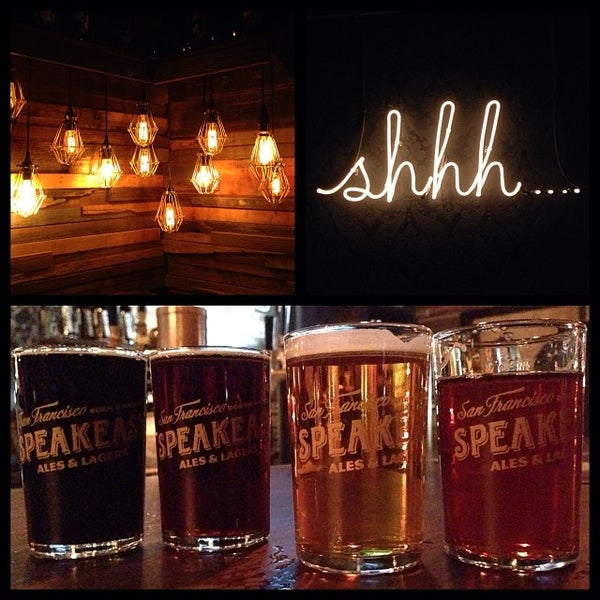 Photo taken at Speakeasy Ales & Lagers by Darshan R. on 1/6/2014
