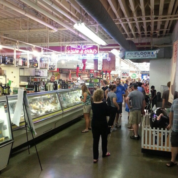 Photo taken at North Market by Chuck P. on 8/18/2013