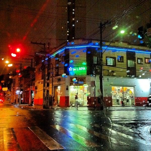 Photo taken at Rua Clélia by Fê R. on 10/11/2012