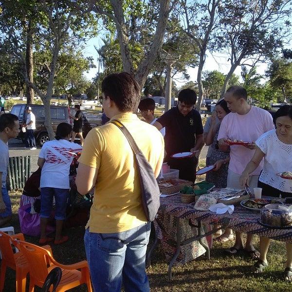 Photo taken at Manila Memorial Park by Jennifer R. on 3/8/2015
