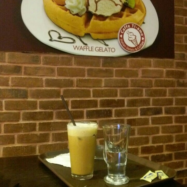 Photo taken at Caffè Ti-amo by Jennifer R. on 5/20/2015