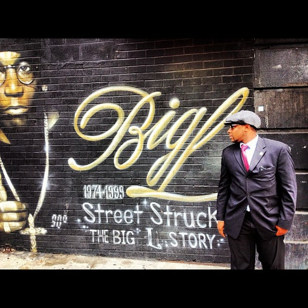 big l memorial mural public art in new york