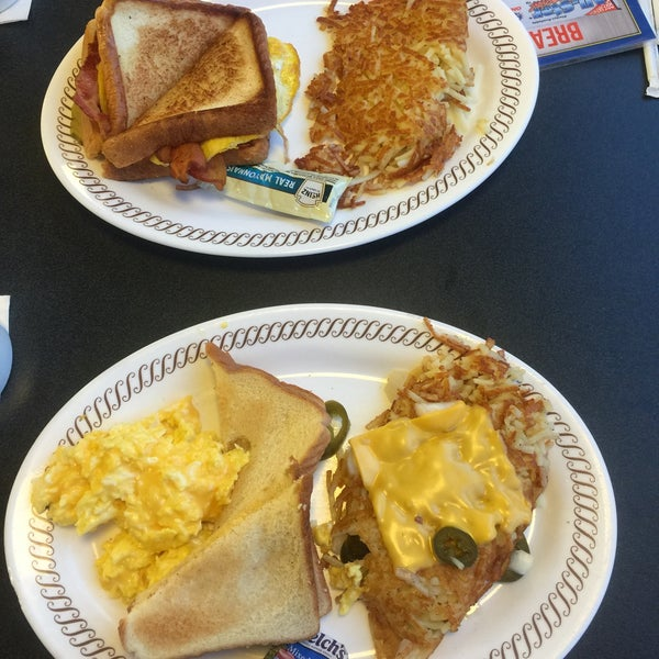 Photo taken at Waffle House by Britta S. on 6/19/2015