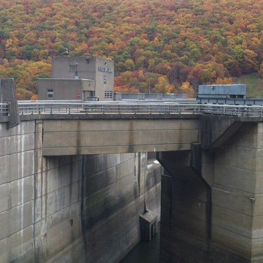 Photo taken at Kinzua Dam by Mitch K. on 10/16/2012