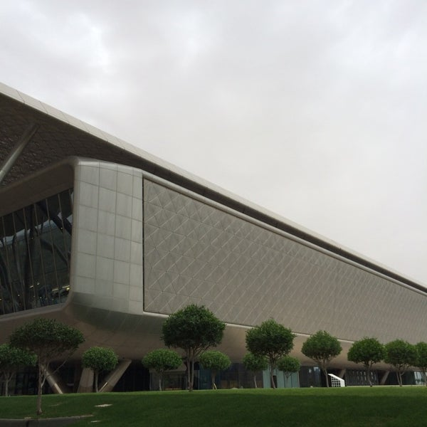 Photo taken at Qatar Science and Technology Park by Ahmad A. on 4/2/2014