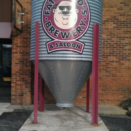 Photo taken at Fat Head's Brewery & Saloon by Ryan M. on 1/20/2013