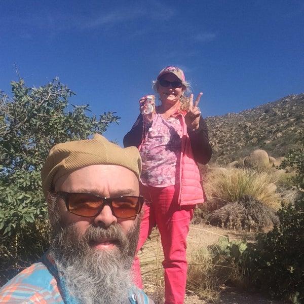 Photo taken at La Luz Trailhead by Vikki D. on 10/11/2015