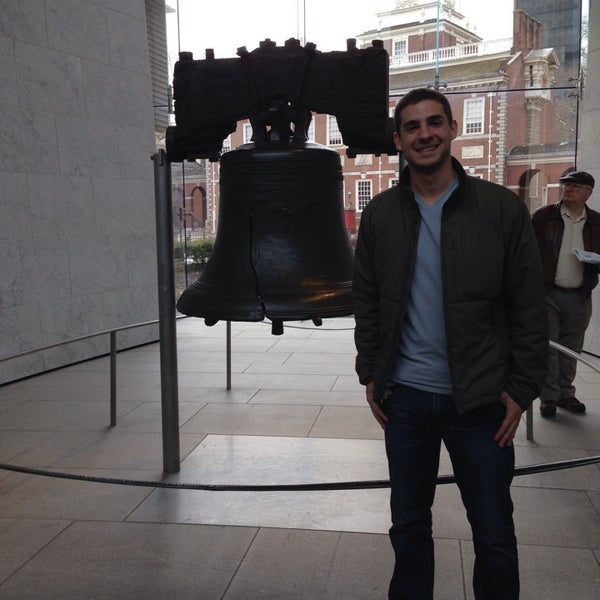 Photo taken at Liberty Bell Center by David M. on 3/10/2014