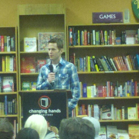 Photo taken at Changing Hands Bookstore by Allan D. on 10/27/2012