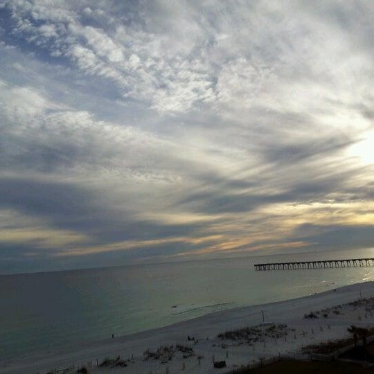 Photo taken at Hilton Pensacola Beach by Rebecca W. on 1/7/2013