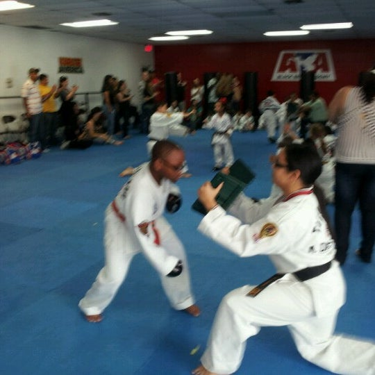 Photo taken at Karate America by Pamela Y. on 12/15/2012