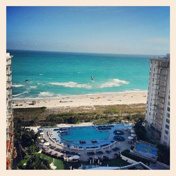 Photo taken at The Perry South Beach Hotel by Aaron R. on 1/30/2013
