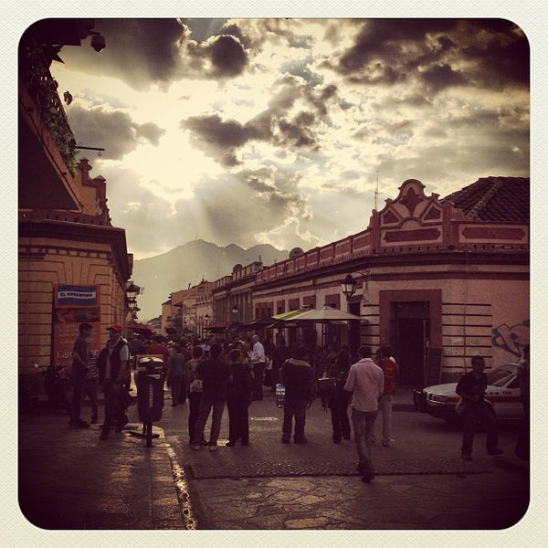 Photo taken at Andador Real de Guadalupe by Ban d. on 3/24/2013