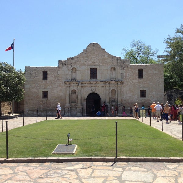 Photo taken at The Alamo by Jim C. on 5/7/2013