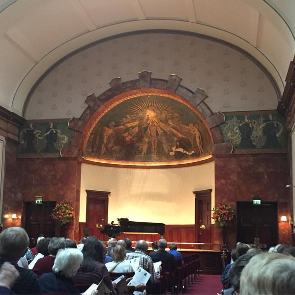 Photo taken at Wigmore Hall by Enzo M. on 9/8/2015