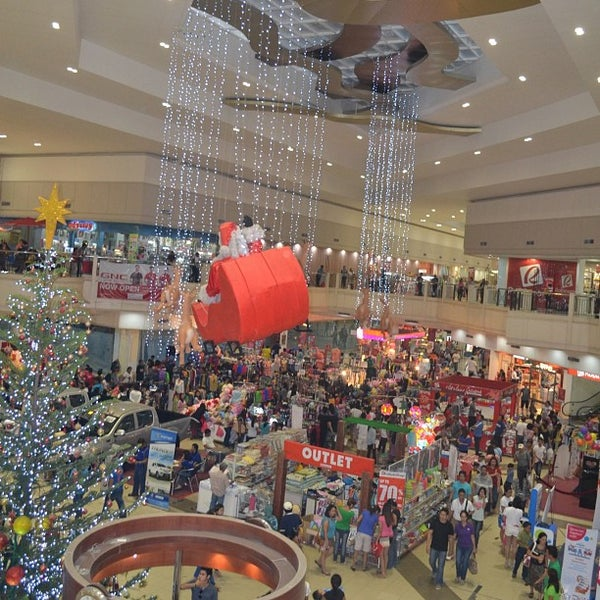 Photo taken at Limketkai Center by Kristina C. on 1/1/2013