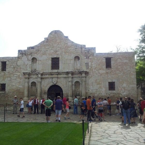 Photo taken at The Alamo by david m. on 4/1/2013