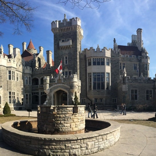 Photo taken at Casa Loma by Julia P. on 4/8/2014