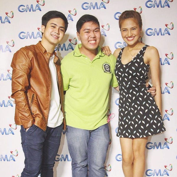 Photo taken at GMA Network Center by Jimpy A. on 7/13/2015