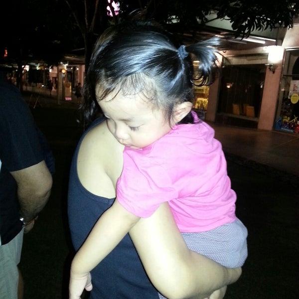 Photo taken at Bonifacio High Playground by Sheila B. on 3/29/2013