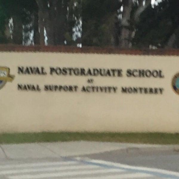 Photo taken at Naval Postgraduate School by Thomas B. on 4/1/2016