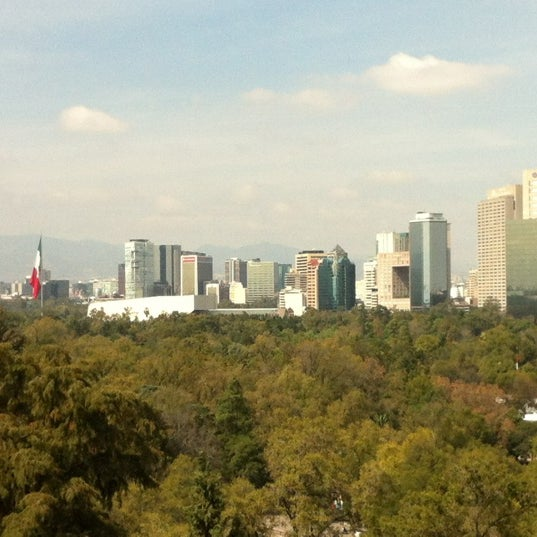 Photo taken at Bosque de Chapultepec by Oscar V. on 11/17/2012