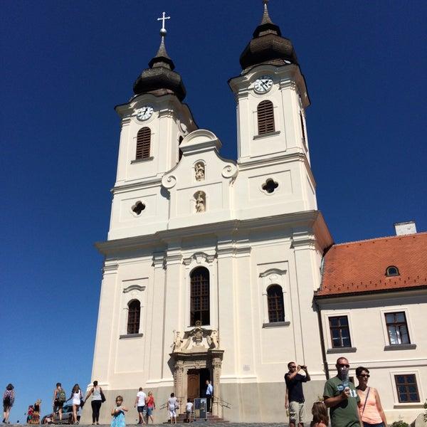 Photo taken at Tihanyi Apátság by Adrienn B. on 8/8/2016