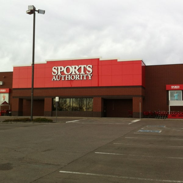 Photo taken at Sports Authority by Kristin on 5/5/2013