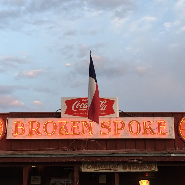 Photo taken at Broken Spoke by Eric on 3/14/2015